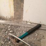 Bilning av väggskarvar